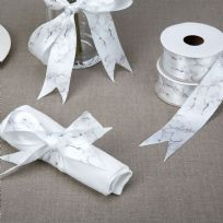 Scripted Marble Print Ribbon (2.5M)